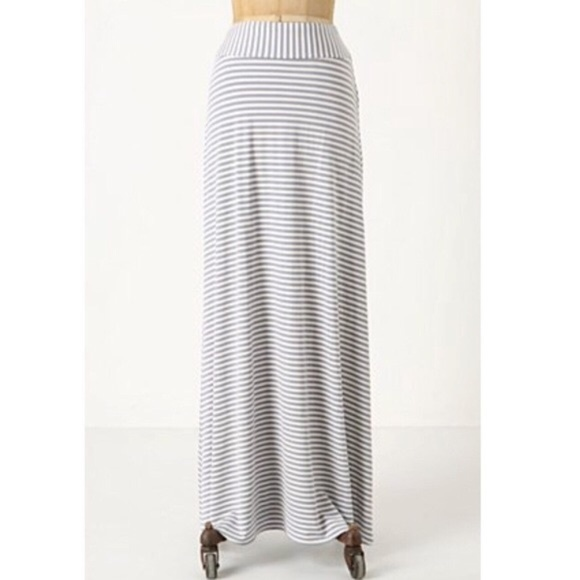 Anthropologie Dresses & Skirts - ANTHROPOLOGIE Striped Maxi Skirt {EE44}